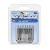 WAHL Competition Series Detachable Blade Set (#4 Skip Extra Coarse 8mm)