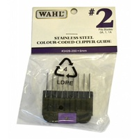WAHL Stainless Steel Clipper Guide (#2 - 6mm) for KM-2