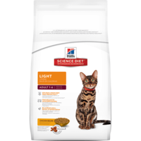 Hill's Science Diet Feline Adult Light - 2kg