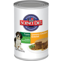 Hill's Science Diet Puppy Healthy Development Can Savoury Chicken - 370g