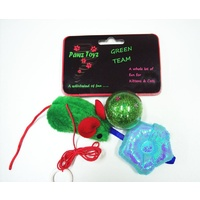The Green Team Cat Toys 4 Pack