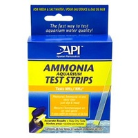 API Ammonia Aquarium Test Strips - 25 Strips