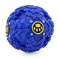 Giggle Ball Dog Toy - Small - Blue