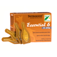 Dermoscent Essential 6 Spot-on for Medium Dogs 10-20 kgs - 4 pack