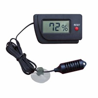Reptile Digital Hygrometer with Remote Sensor
