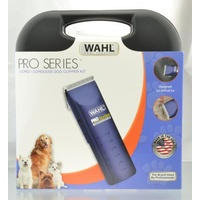 WAHL Pro Series Cord / Cordless Dog Clipper Kit