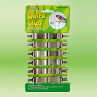 Bird Cage Metal Quick Clips - 12 Clips
