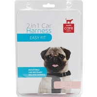 ALLPET 2 in 1 Dog Car Harness - Small - Up to 10kg
