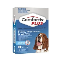 Comfortis PLUS for Dogs 18.1-27 kgs - 6 Pack - Blue