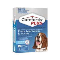 Comfortis PLUS for Dogs 18.1-27 kgs - 3 Pack - Blue