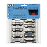 WAHL Stainless Steel Attachment Guide Combs (8 Combs)