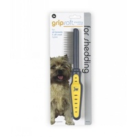 JW Grip Soft Shedding Comb