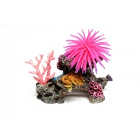 Pink Ship Soft Coral Aquarium Ornament - Medium