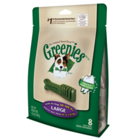 Greenies Original Dog Treats - Large - 340g (8 Pack)