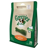 Greenies Original Dog Treats - Petite - 340g (20 Pack)