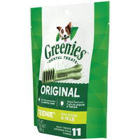 Greenies Original Dog Treats - Teenie - 85g (11 Pack)