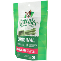 Greenies Original Dog Treats - Regular - 85g (3 Pack)