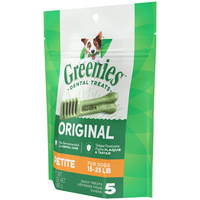 Greenies Original Dog Treats - Petite - 85g (5 Pack)