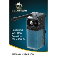 Aquatopia Internal Aquarium Filter 100 - 50-200L/H