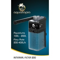 Aquatopia Internal Aquarium Filter 200 - 200-400L/H