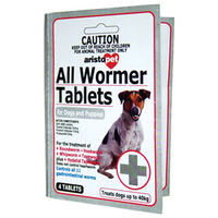 Aristopet All Wormer for Dogs and Puppies - 4 Tablets