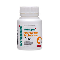 Heartworm Tablets for Dogs 400mg (Aristopet) - 100 Tablets