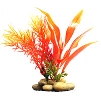 Orange Aquarium Plant - 10cm