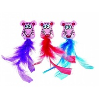 Fat Cat Classic Fluffy Feathers - 2 Pack