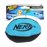 NERF Dog Trackshot Retriever Football - Medium (12.7cm) - Blue