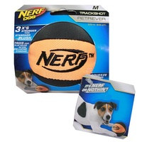 NERF Dog Trackshot Retriever Ball - Medium (8.9cm) - Orange