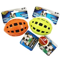 NERF Dog Crunchable Football - Small (10.2cm)