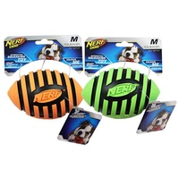 NERF Dog Squeaker Rubber Football - Medium (12.7cm)