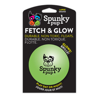 Spunky Pup Fetch & Glow Ball - Large (9cm)