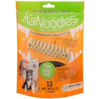 KaNoodles Premium Dental Chew & Treat - Medium - 13 Pack (170g)