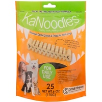 KaNoodles Premium Dental Chew & Treat - Small - 25 Pack (170g)