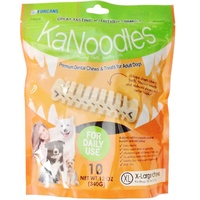 KaNoodles Premium Dental Chew & Treat - X-Large - 10 Pack (340g)