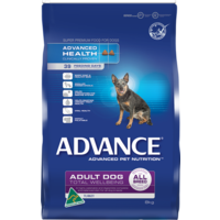 Advance Adult Total Wellbeing All Breed - with Turkey & Rice - 8kg