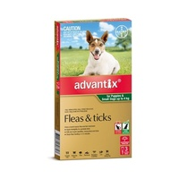 Advantix for Dogs up to 4 kgs - 3 Pack - Green - Flea & Tick Control Treatment