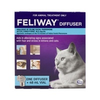 Feliway Pheromone Diffuser with Refill for Cats - (48ml Refil)