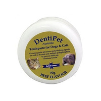 Dentipet Toothpaste for Dogs & Cats - Beef - 70g