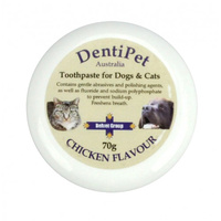 Dentipet Toothpaste for Dogs & Cats - Chicken - 70g