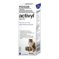 Activyl for Cats over 4 kg - Single Dose - Dark Blue