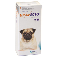 Bravecto for Small Dogs 4.5-10 kg - Orange - 1 Tablet (3 months)