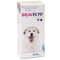 Bravecto for X-Large Dogs 40-56 kg - Purple - 1 Tablet (3 months)