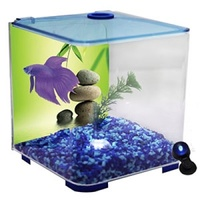 Aqua One BettaStyle Acrylic Tank with LED Light - 3L - Blue