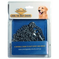 Dog Tie-Out Chrome Plated Chain (Prestige Pet) -  2.5mm x 3 Meters