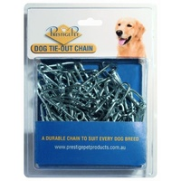 Dog Tie-Out Zinc Plated Chain (Prestige Pet) -  3.5mm x 3 Meters