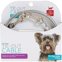 Tie-Out Cable for Dogs Under 10kg - 3.5 Metres
