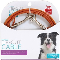 Tie-Out Cable for Dogs Under 25kg - 4.5 Metres