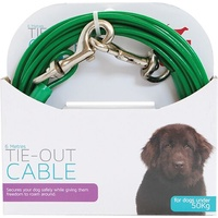 Tie-Out Cable for Dogs Under 50kg - 6 Metres